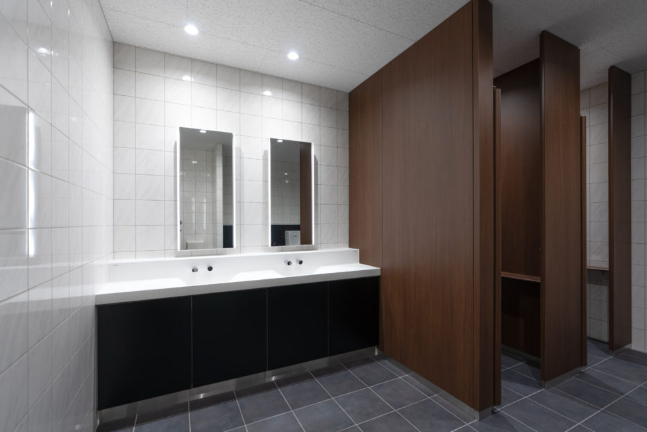 ゲストトイレ洗面スペース