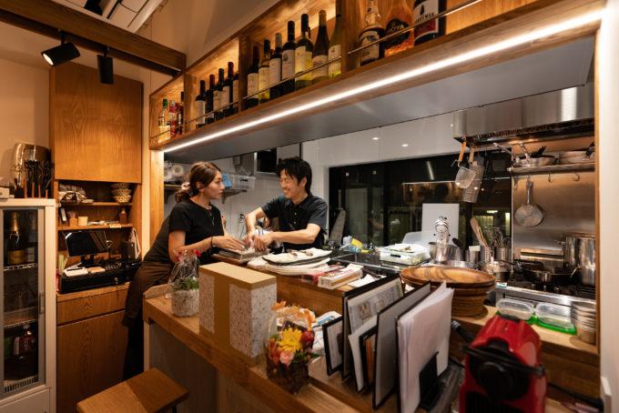 BISTRO EIGHT オープン前の厨房風景